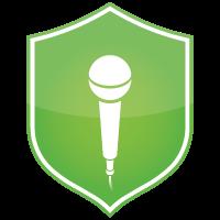 Microphone Block Icon